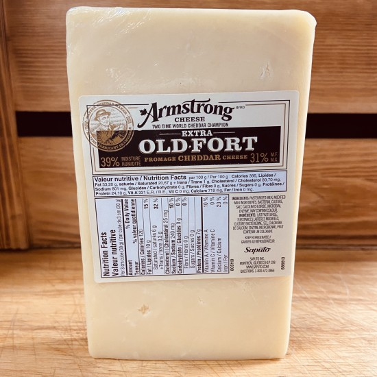 Armstrong Cheese- Extra Old Cheddar Cheese (272g)