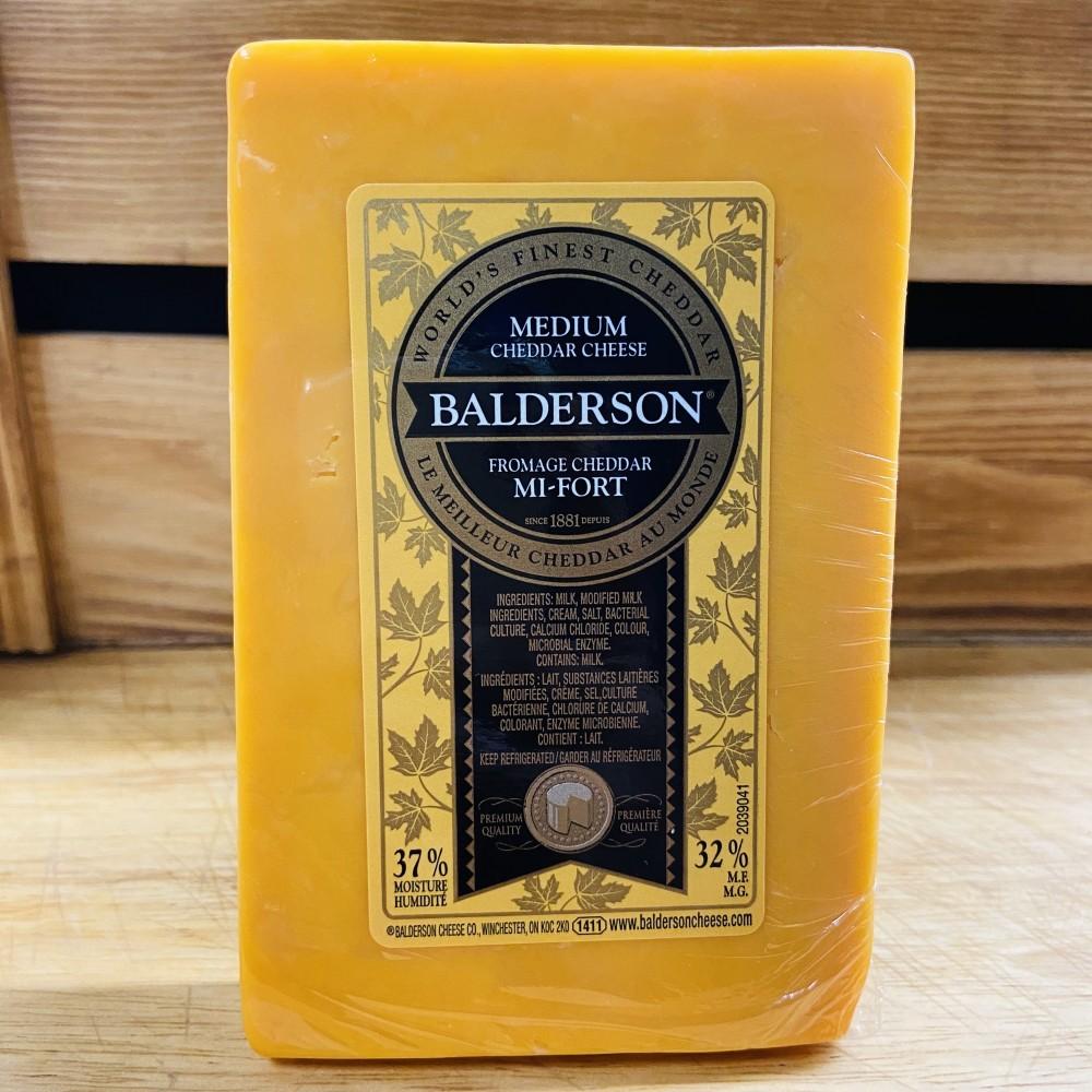 Balderson- Medium Yellow Cheddar Cheese (290g)
