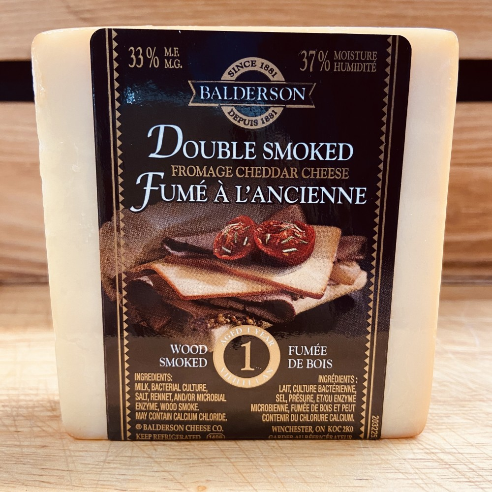 Balderson- Double Smoked Fromage Cheddar Cheese (190g)