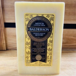 Balderson- Medium White Cheddar Cheese (260g)