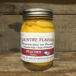 COUNTRY FLAVOUR PEACHES (500ML)