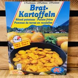 Brat-Kartoffeln Sliced potatoes (2 portions,400g)