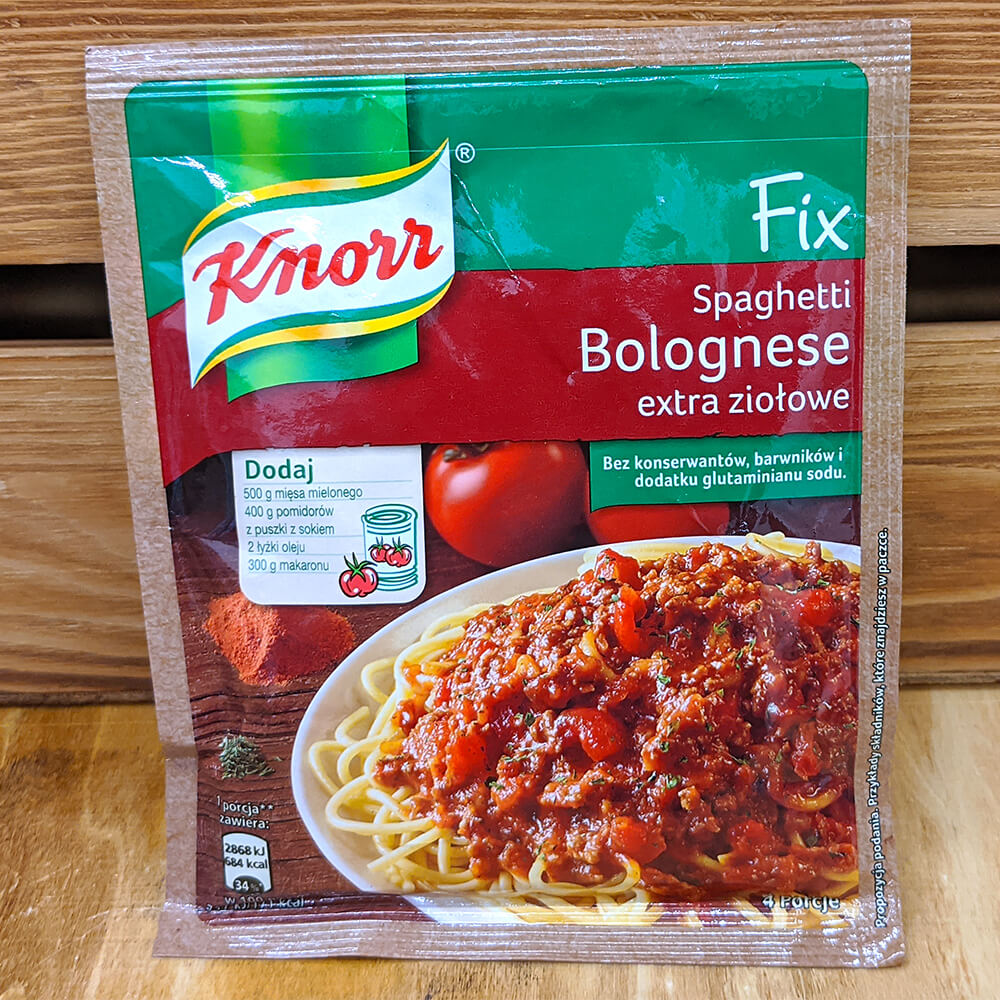 Knorr Fix - Spaghetti Bolognese Extra Herbal (48g)