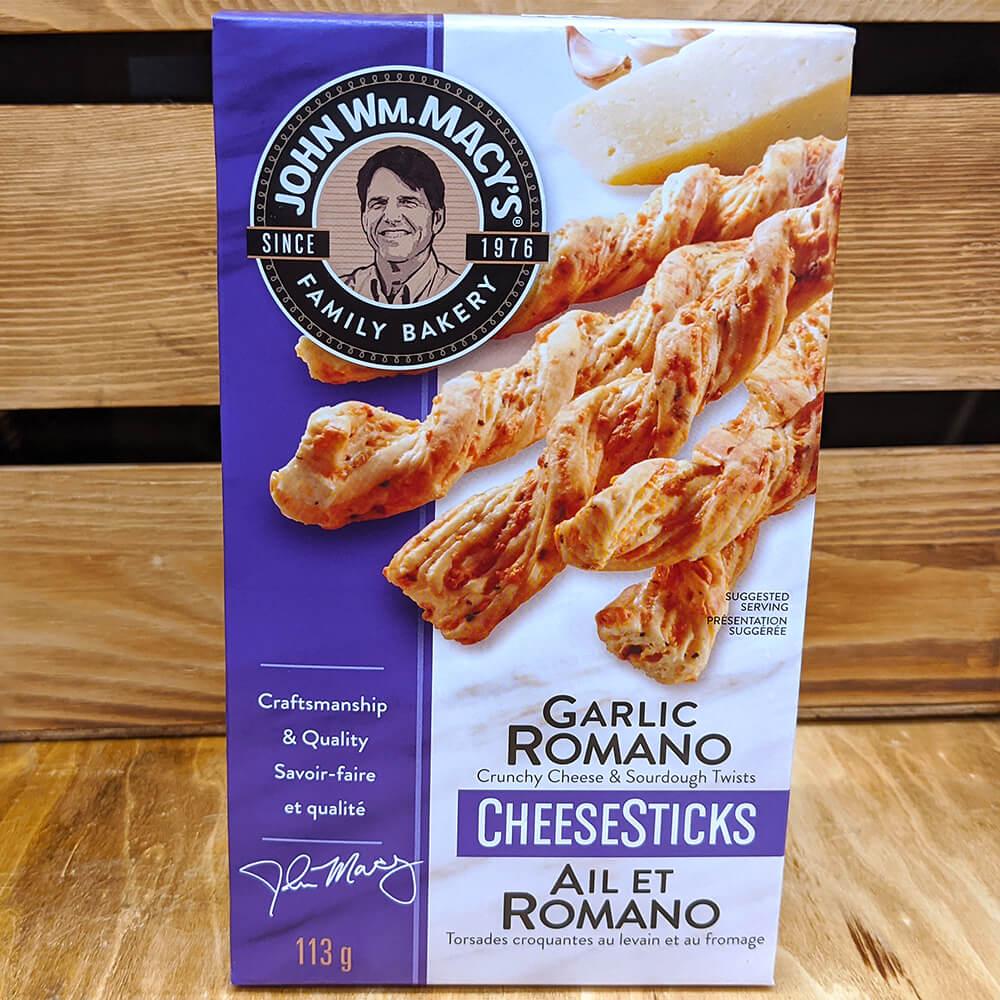 John Macy's - Cheese Sticks (Garlic Romano) (113g)