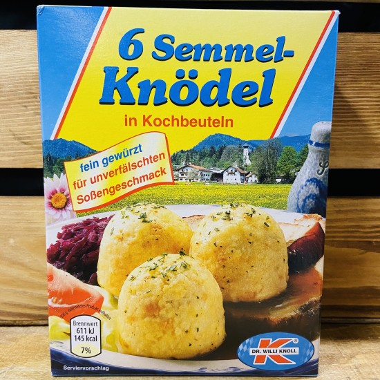 Dr Willi Knoll - Bread Dumplings in boiling bags (200g,6 pieces)
