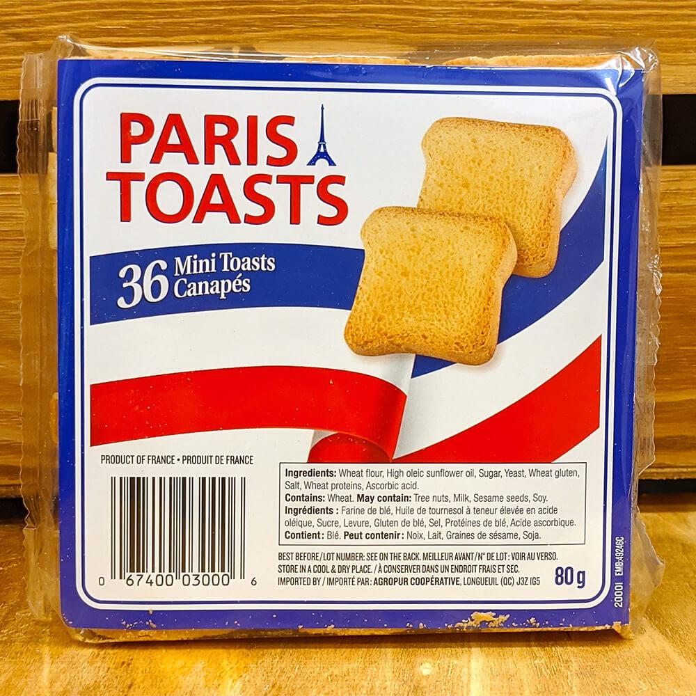 Paris Toasts - Mini Toasts (80g)