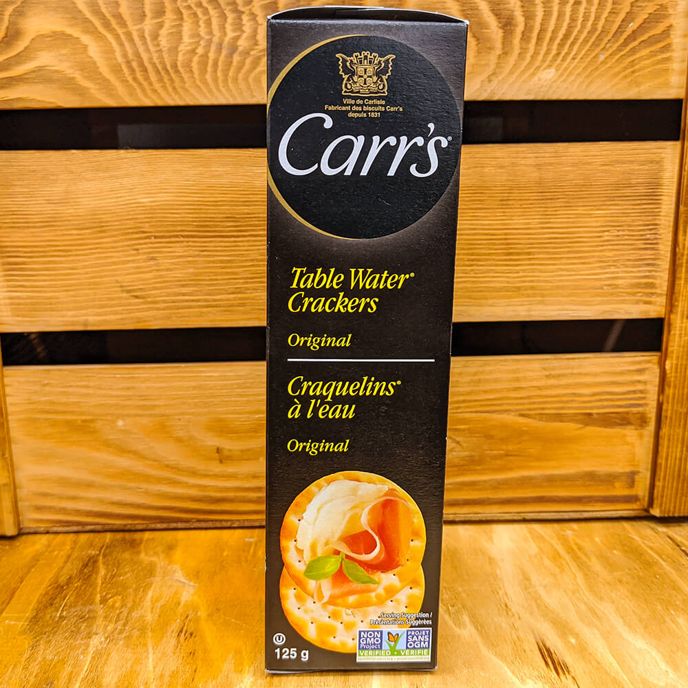 Carr's - Table Water Crackers (Original) (125g)