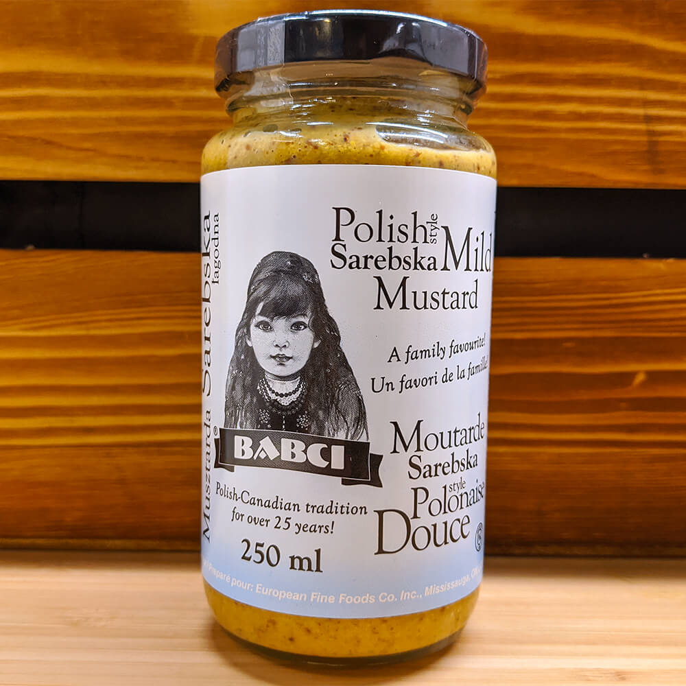 Polish Style Sarebska Mild Mustard (250ml)