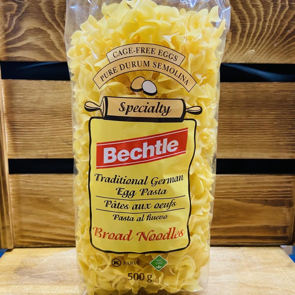 Bechtle-Traditional German Egg Pasta,Broad Noodles(500g)