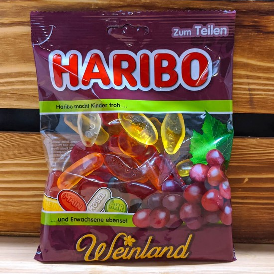 Haribo - Wineland Gummies (200g)
