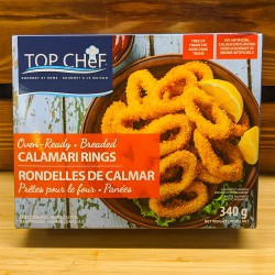 Breaded Calamari Rings (340g)