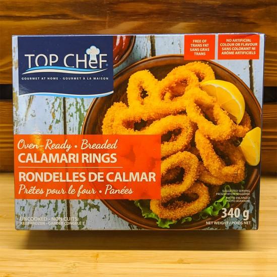 Breaded Calamari Rings (340g)