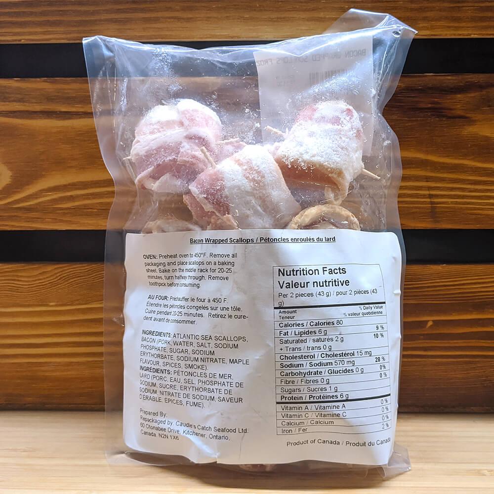 Bacon Wrapped Scallops (454g)