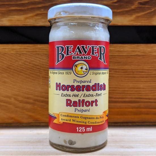 Beaver Brand - Horseradish (Extra Hot) (125ml)