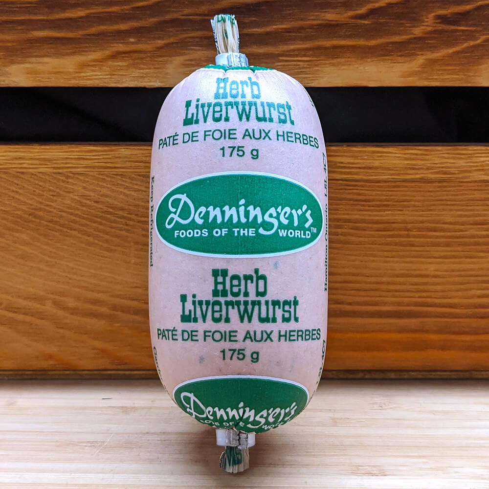 Denninger's - Herb Liverwurst (175g)