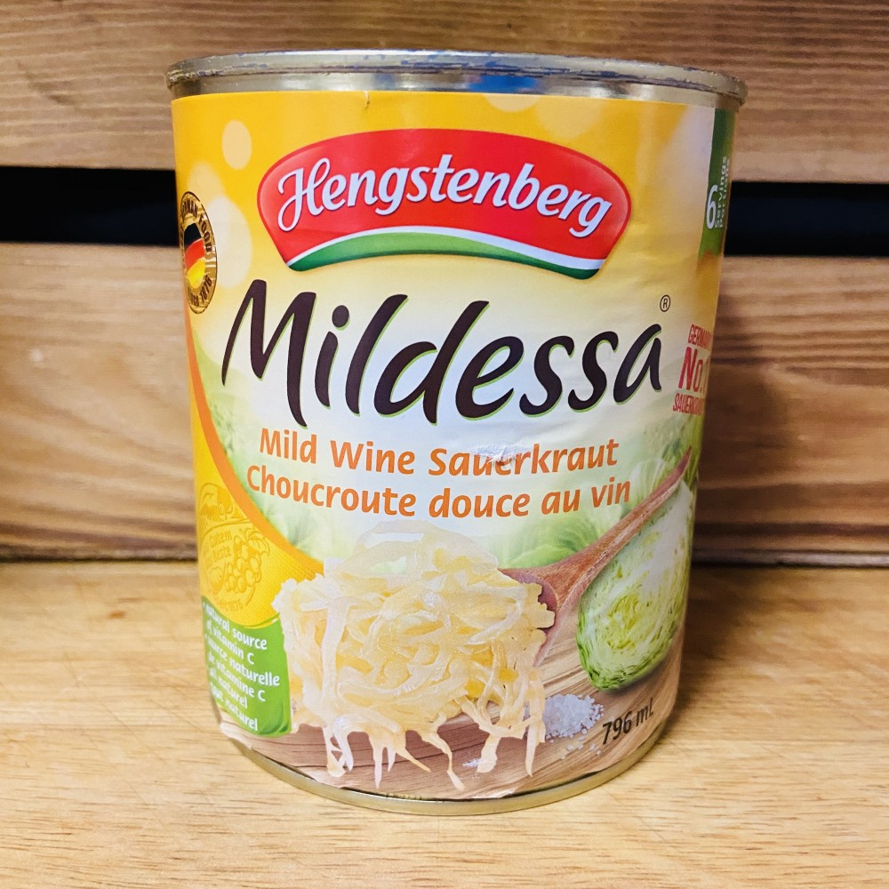 Hengstenberg- Mildessa Mild Wine Sauerkraut (796ml)