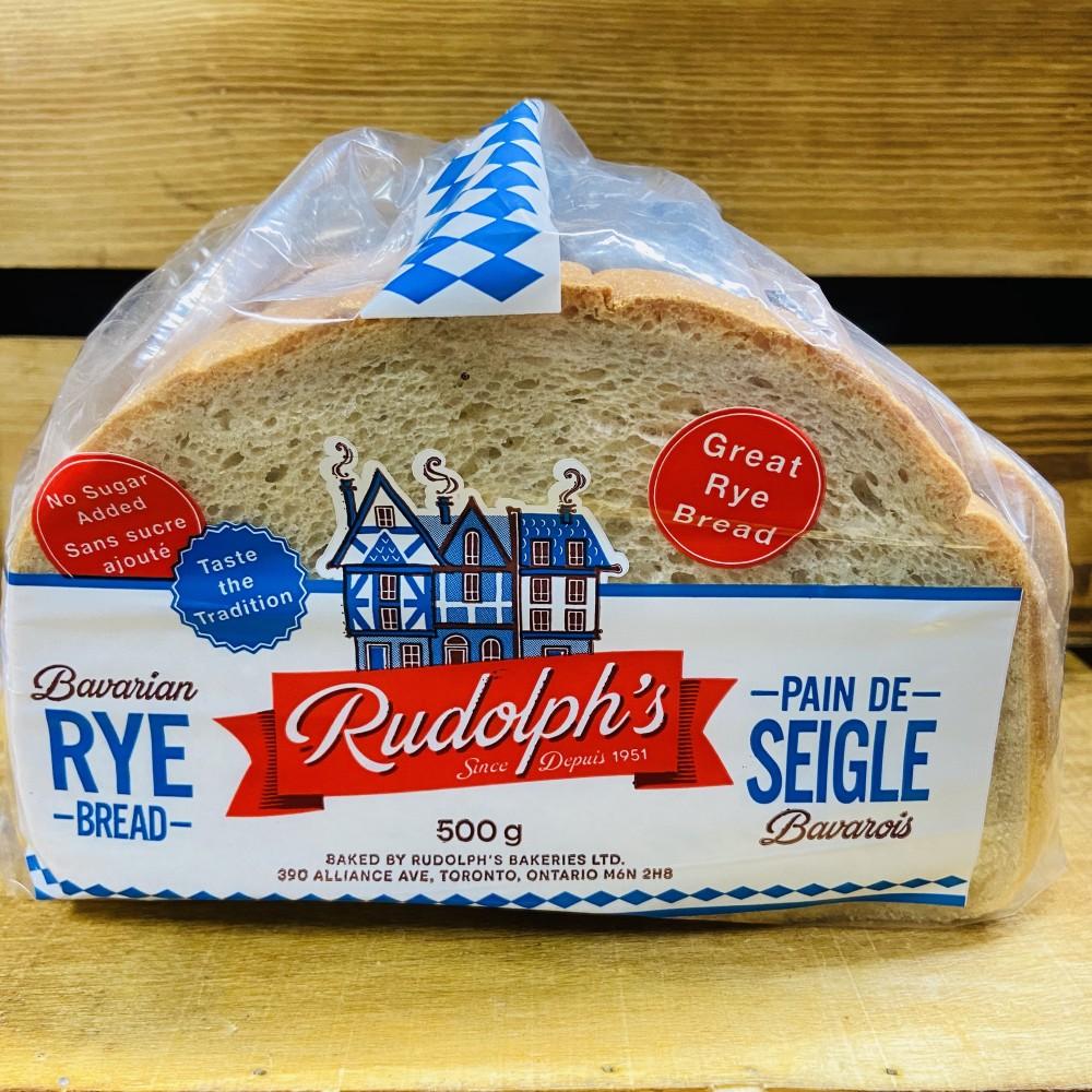 Rudolph's - Bavarian Rye Bread ( 500g)