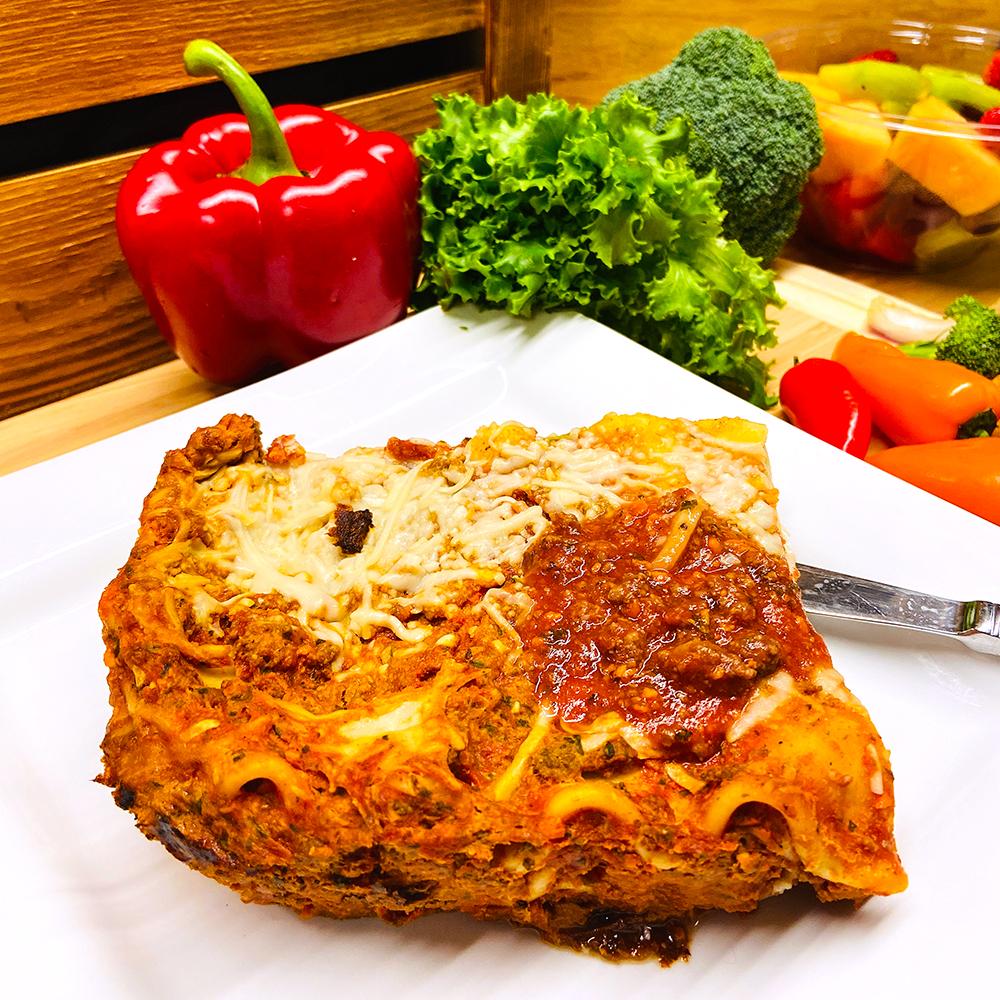 Healthy Meat Lasagna