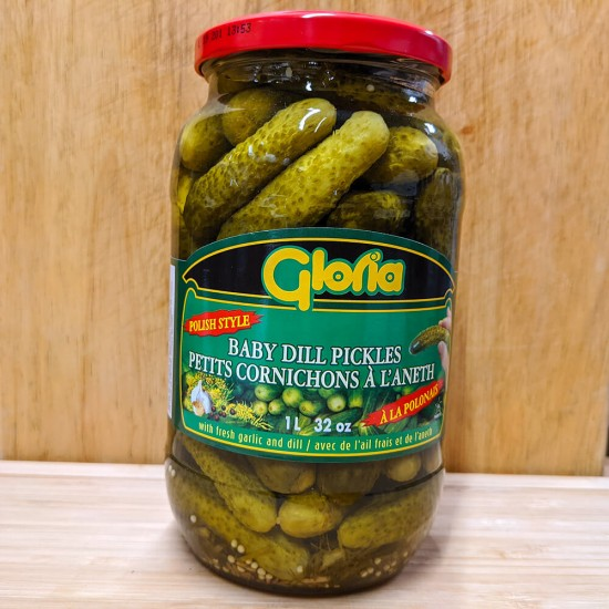 Baby Dill Pickles (1L)