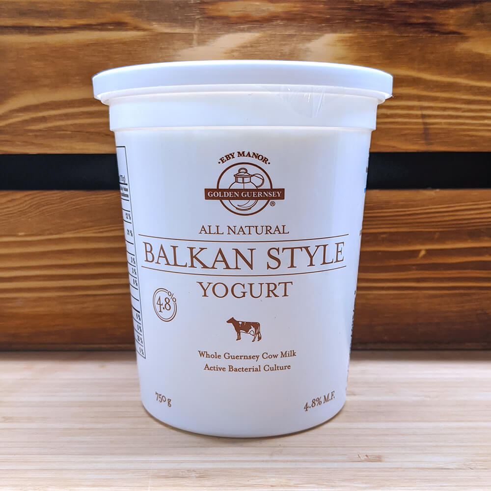 Eby Manor - All Natural Balkan Yogurt (750g)