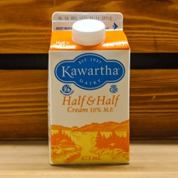 Kawartha Dairy - Half & Half Cream 10% M.F. (473ml)