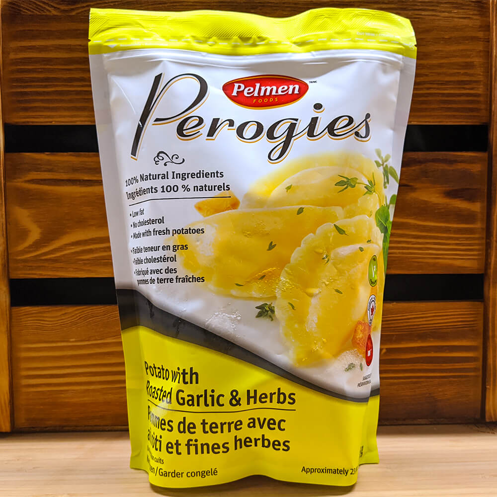 Perogies (Potato with Roasted Garlic & Herbs) (625g)