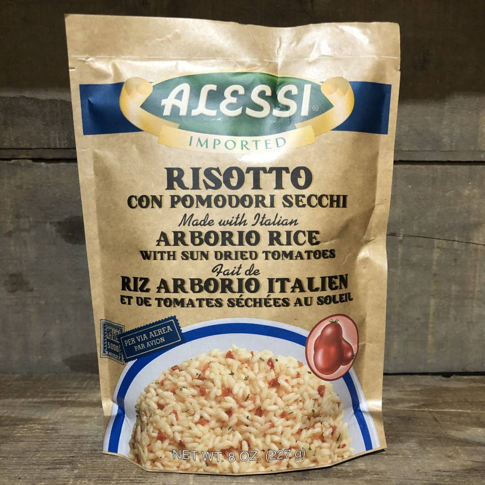 ALESSI - RISOTTO WITH SUN DRIED TOMATOES (227G)