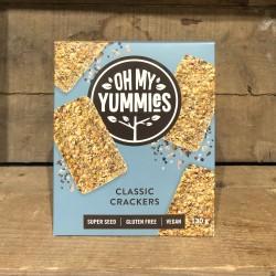 OH MY YUMMIES - CRACKERS (130G)